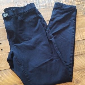 Banana Republic Sloan Crop Skinny Pants Navy Blue